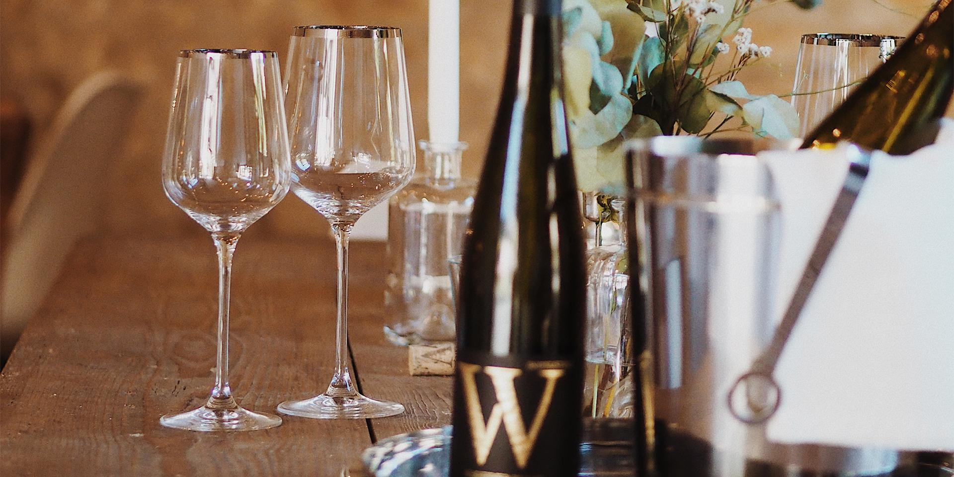 Weingenuss - Wasem Doppelstück und Fink Living