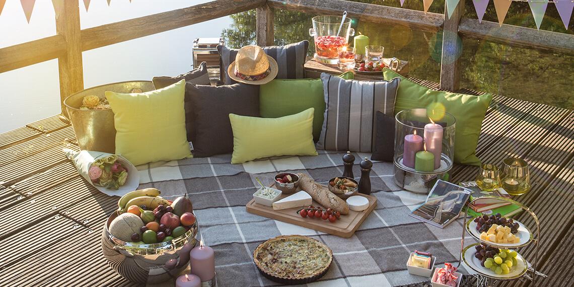 Die Wohnwelt Gartenpicknick