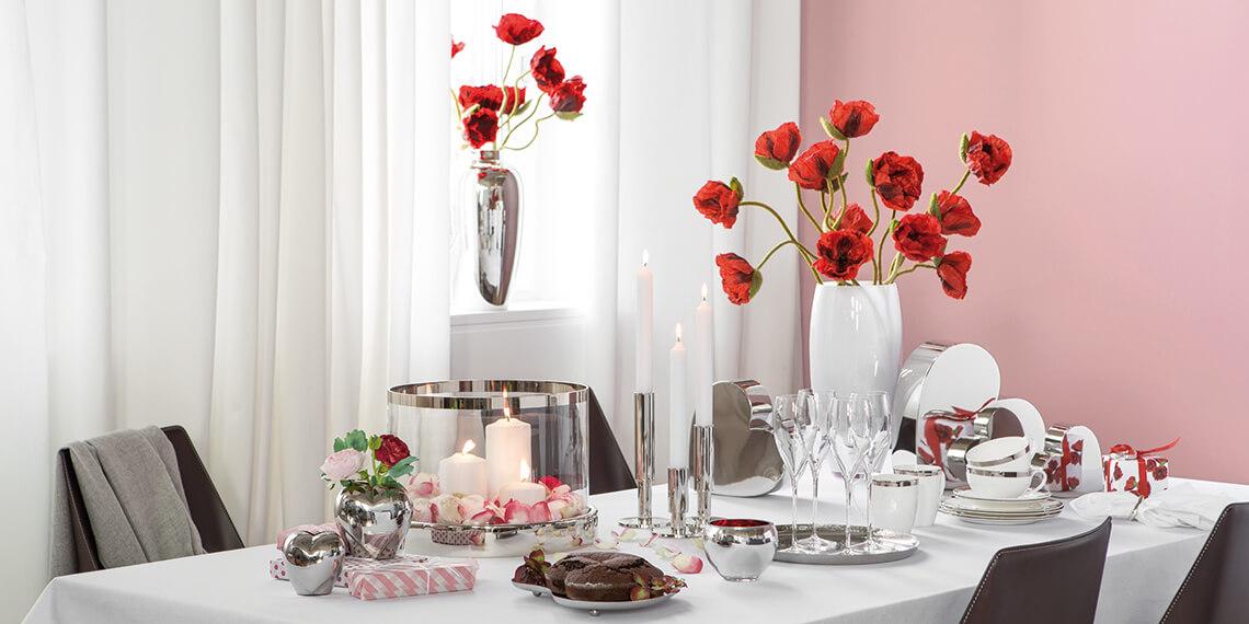 Die Wohnwelt Der perfekte Valentinstag
