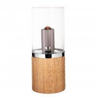 Windlicht mit Glas CATANIA 146245