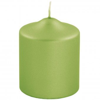 metallic Stumpenkerze Candle 123735