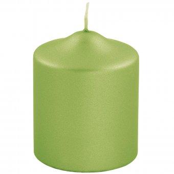 metallic Stumpenkerze Candle 123735