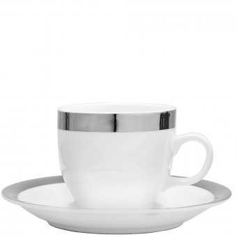 Espressotasse mit Untertasse Platinum 126112