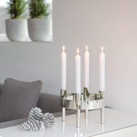 metallic Stabkerze Candle V123840 mit Dekoration