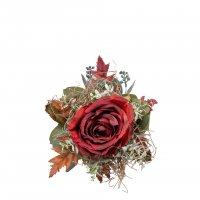 Kunstblumenstrauß Petitbouquet 184108 mit Dekoration