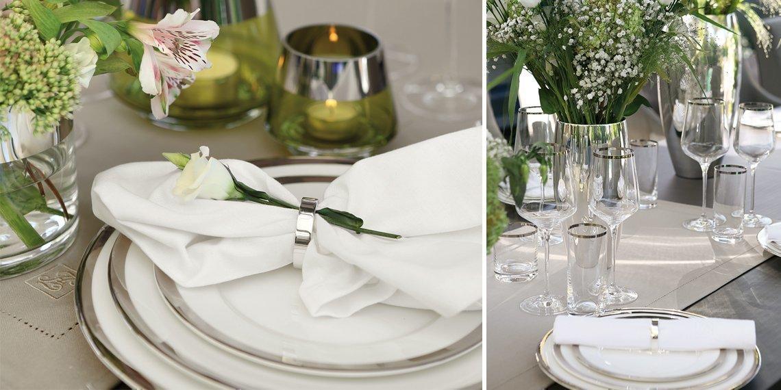 Sommerleicht - Sommerleicht gedeckter Tisch - Das perfekte Dinner