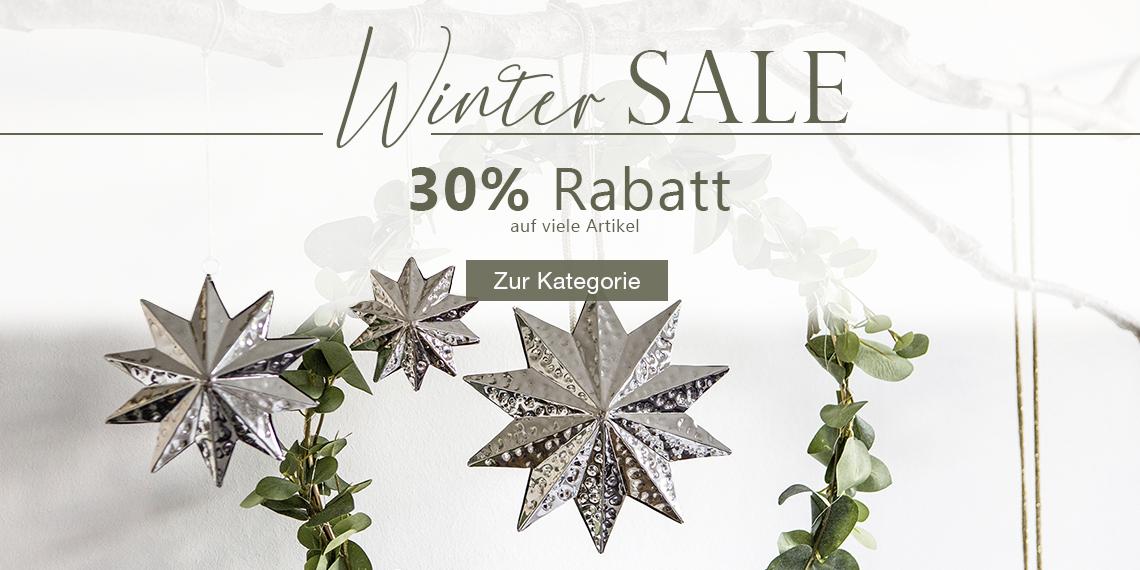 Winter Sale 30% Rabatt