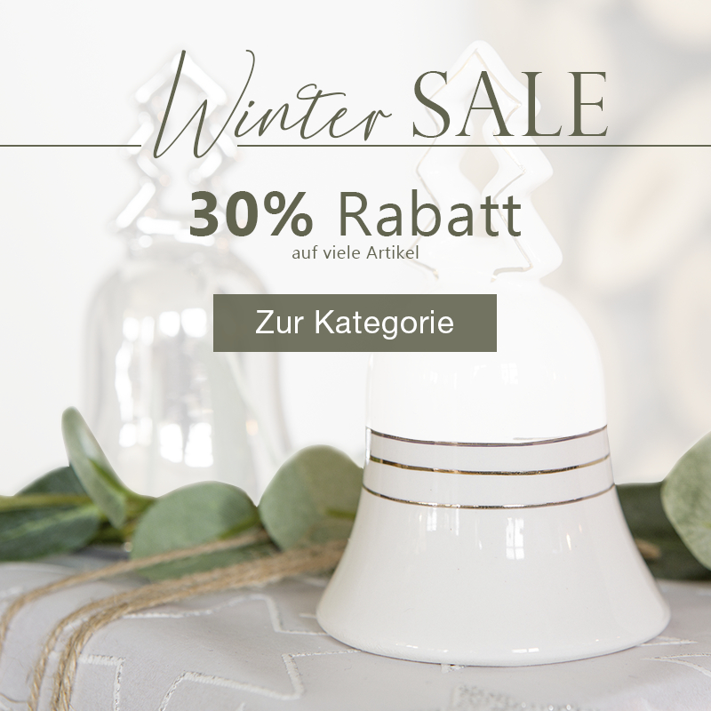 - Winter Sale 30% Rabatt -
